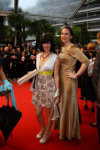 Angela Peters and Elisa Armstrong at the event of Amour, Cannes Film Festival