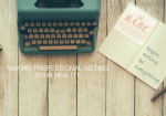 signup to acting blog