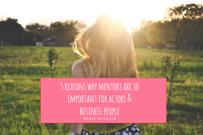 reasons for acting mentors