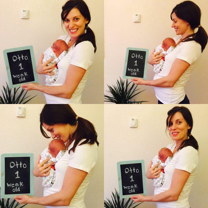 mum first month