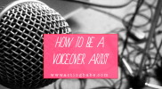 How to get started as a voiceover artist… (OTHER ACTING JOBS)