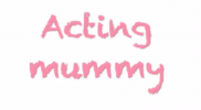 First acting mummy video