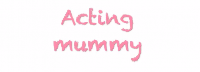 acting mummy making yoghurt dots